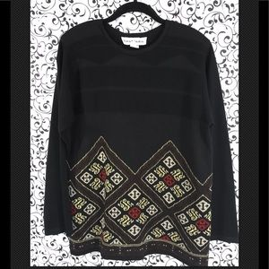 Norton McNaughton Black Sweater
